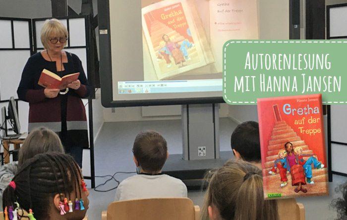 Hanna Jansen liest in der KGS Horststraße