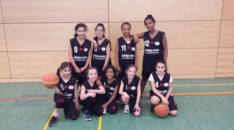 2. Platz bei den Stadtmeisterschaften im Basketball