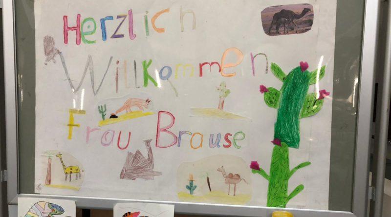 Die Kinderbuchautorin Katalina Brause liest für unsere Drittklässler